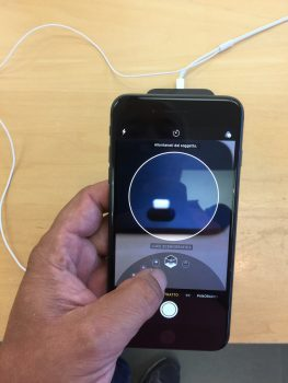 iPhone 8 fotocamera