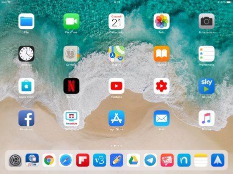 iOS 11 in ambito lavorativo iPad