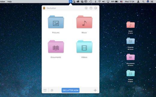 Migliori utility per mac: Declutter