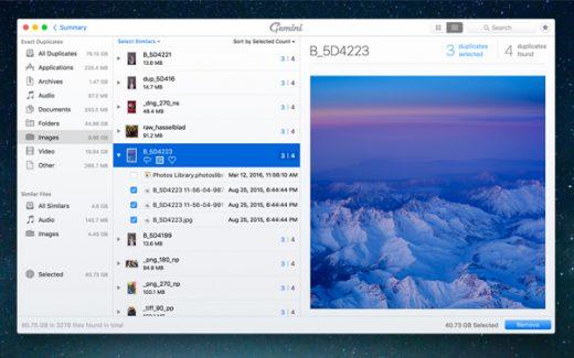 Migliori utility per mac: Gemini