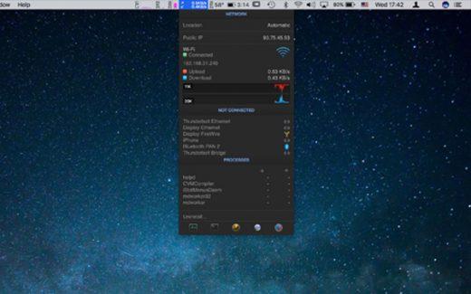 Migliori utility per mac: iStat Menu