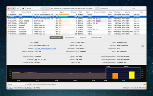 Mac Wifi Explorer