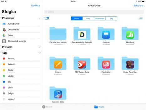 iOS 11 in ambito lavorativo File