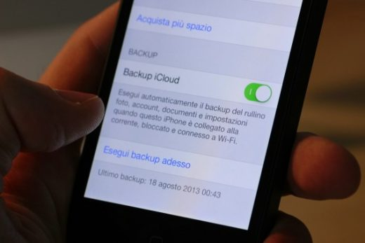 Prepararsi all'arrivo di iOS 14 backup