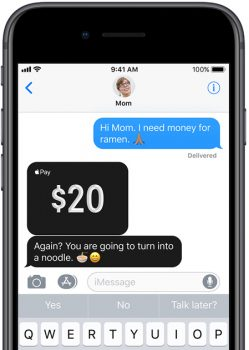 Apple Pay Cash iMessage