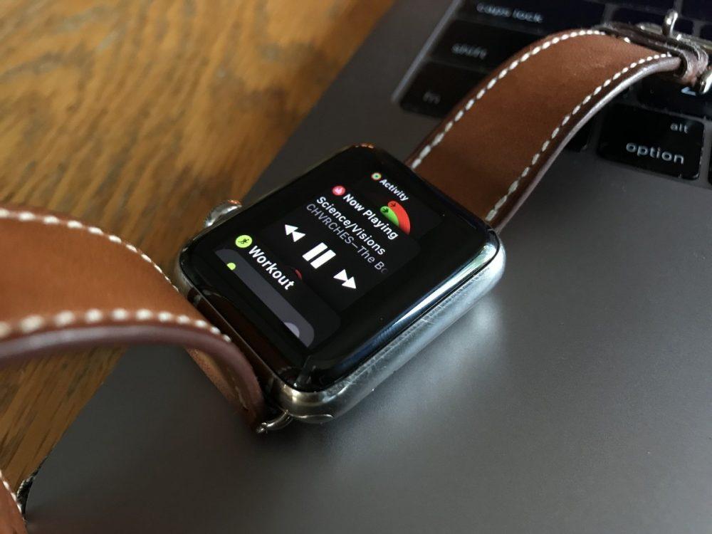 chiusura delle app su Apple Watch serie 2