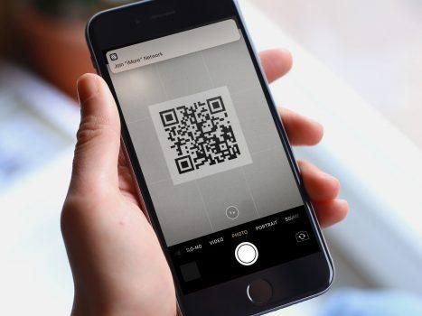 QR Codes in iOS 11 iPhone