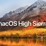 MacOS High Sierra 30