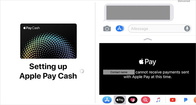 Try New apple pay cash