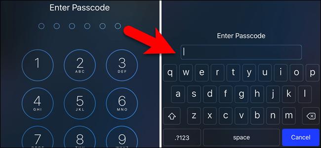 password di sblocco