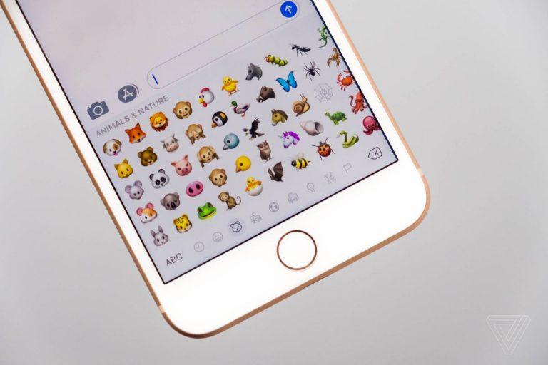 Emoji in iOS 11.1 iPhone