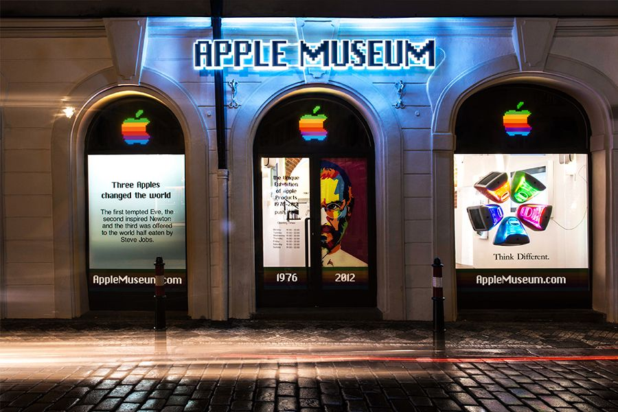 Apple Museum di praga