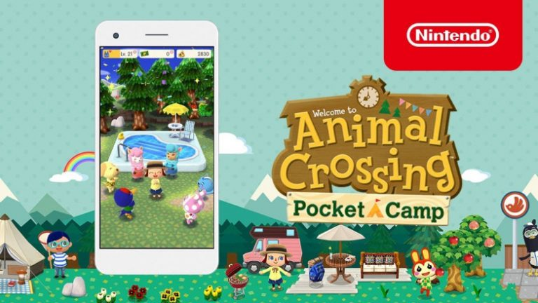 Animal Crossing Pocket Camp cartolina