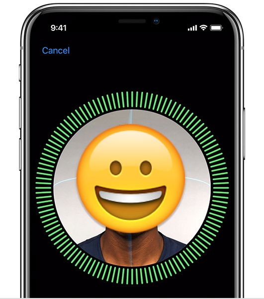 disabilitare il FaceID su iPhone X