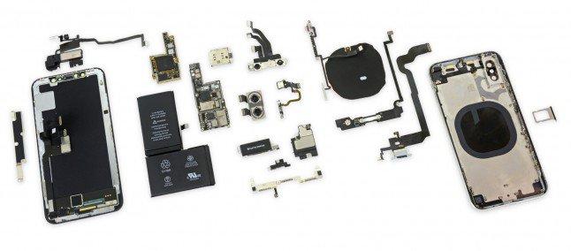 assemblare il nuovo iPhone X componenti