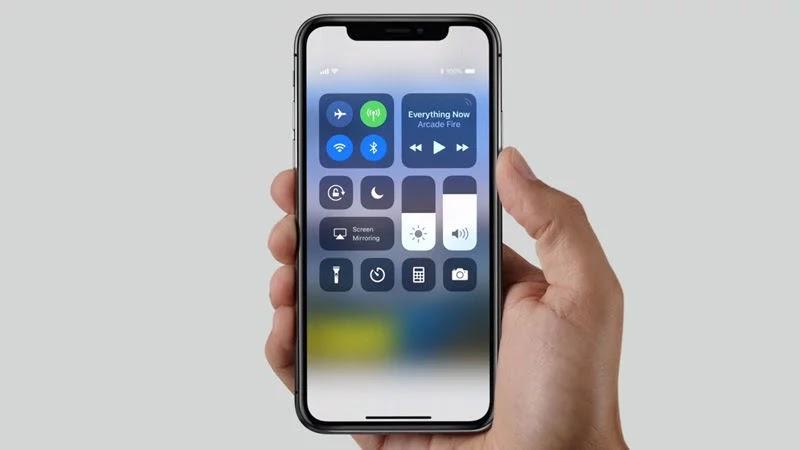visualizzare la percentuale della batteria su iPhone X 3