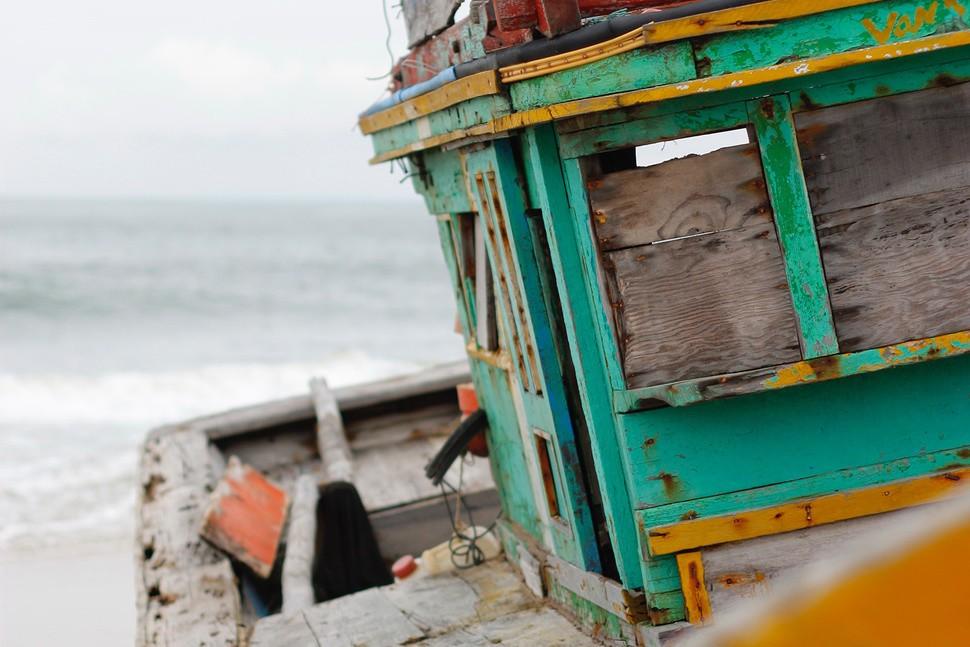migliori sfondi iPhone X barca