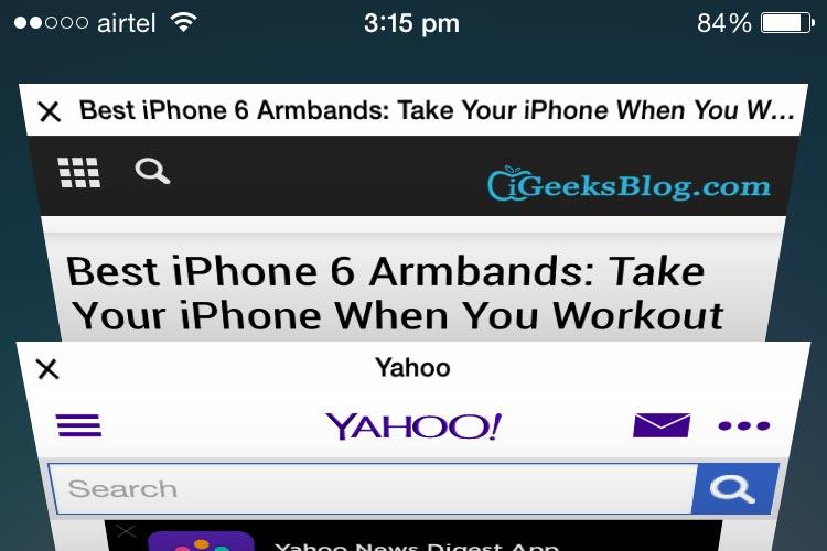 tab iOS macOS iPad