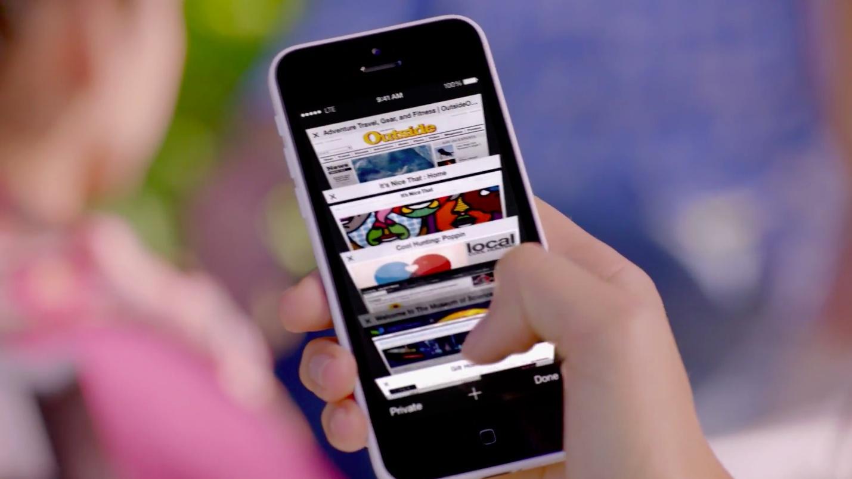 tab iOS safari