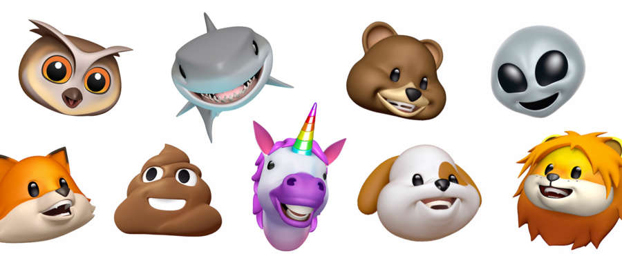 mandare gli Animoji come stickers