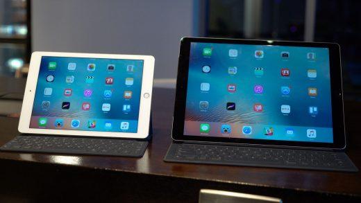 spostare la tastiera su iPad Pro