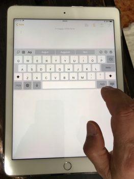 spostare la tastiera 2