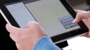 spostare tastiera sull'iPad
