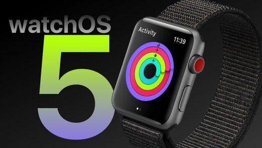 WWDC 2018: WatchOS 5