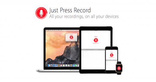 Just Press Record