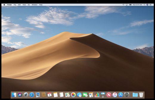 MacOS Mojave sabbia