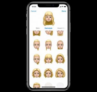 iOS 12 Messaggi
