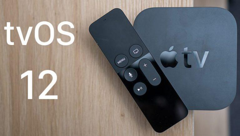 TvOS 12 release