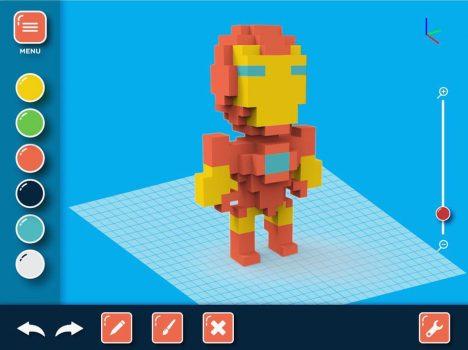 Pix3Dart ironman