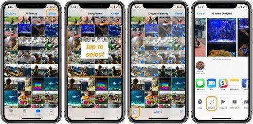 Condividere foto con link temporanei di iCloud 2