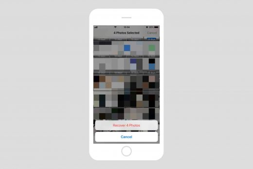 Come ripristinare le foto eliminate su iOS 2