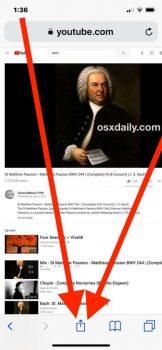 Riprodurre Youtube in background su iOS 2