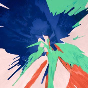 8 sfondi astratti per il nuovo iPad Pro: blue and Green