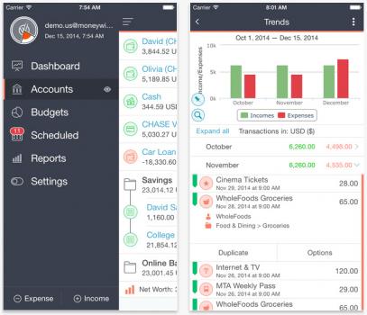 MoneyWiz 2 iOS