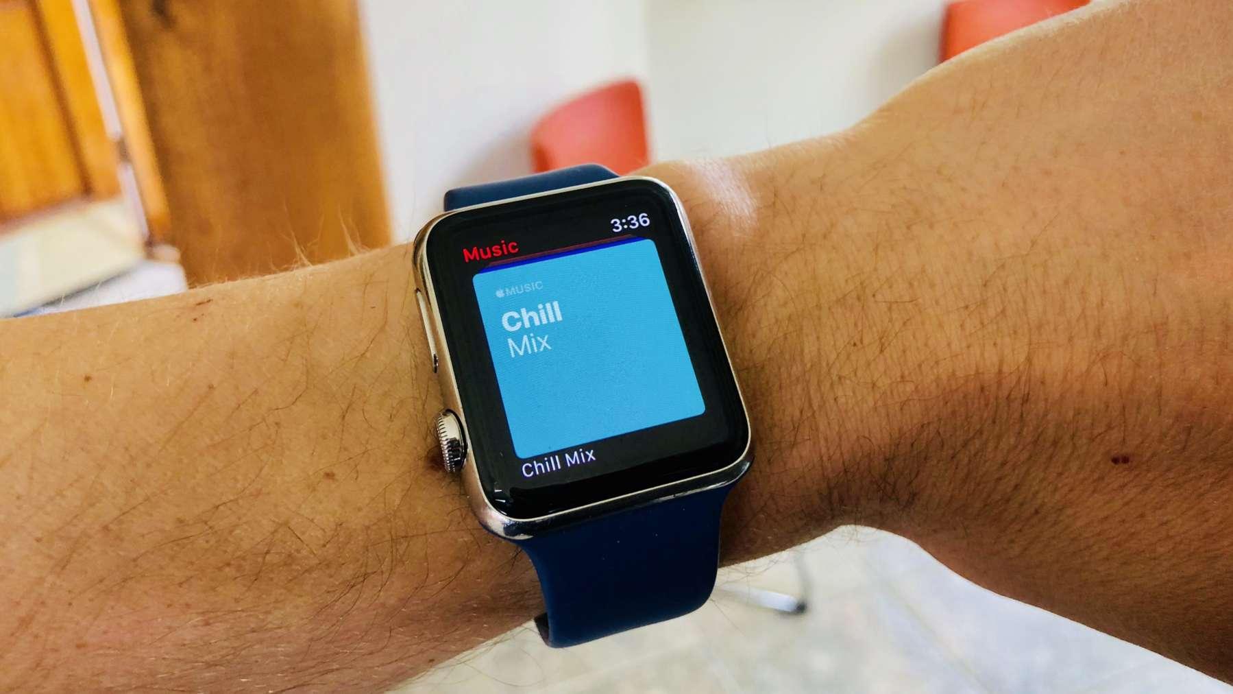 musica e podcast su Apple Watch