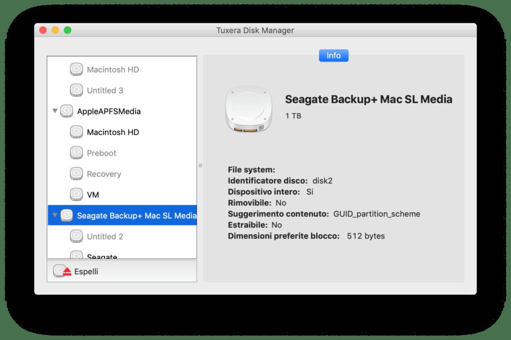 Tuxera NTFS disco