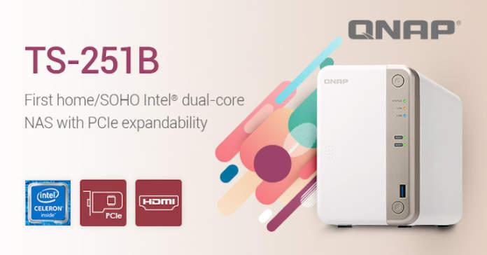 QNAP TS-251B pubblicità