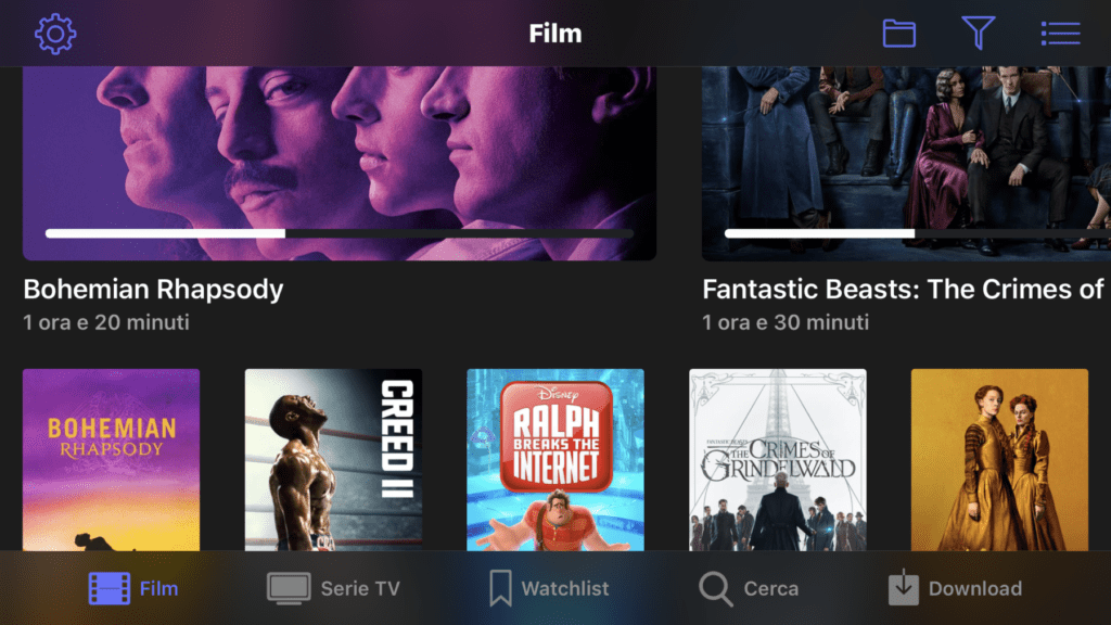 Netflix gratis su iPhone view film