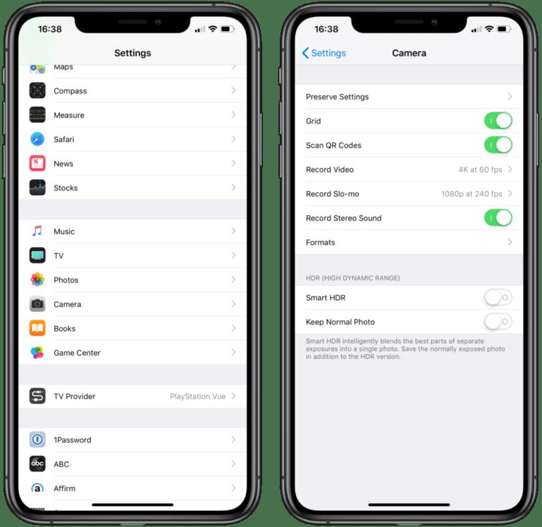 Come attivare o disattivare l'HDR su iPhone