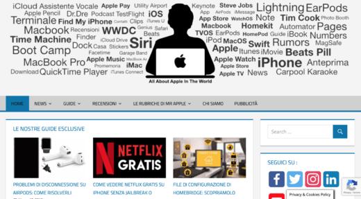 Social Network di Mr.Apple