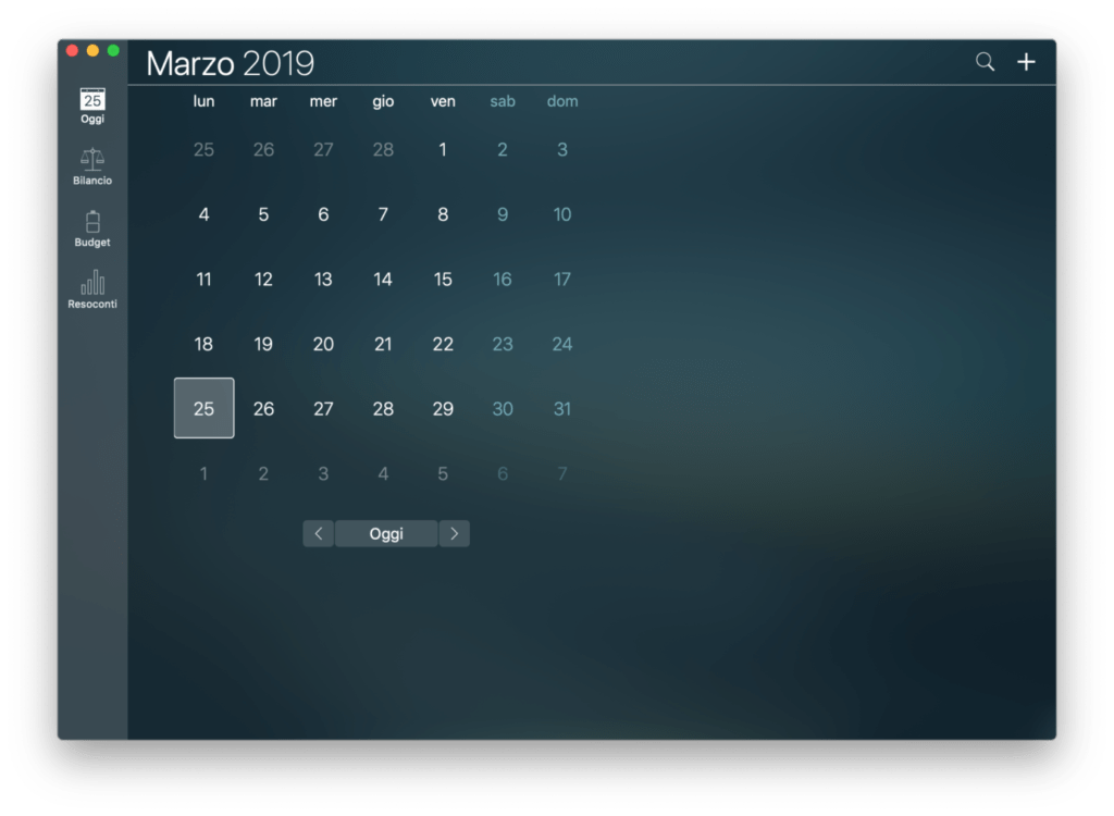 money pro calendar