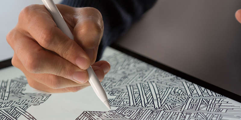 riconoscere e connettere l'apple pencil