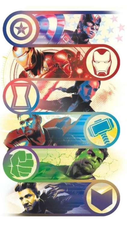 migliori sfondi Marvel per iPhone: Heroes