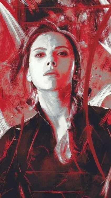 migliori sfondi Marvel per iPhone: Black Widow