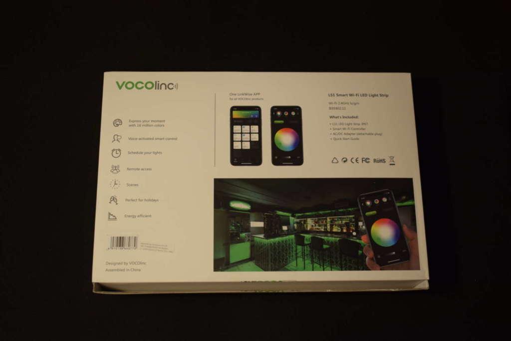 striscia led Vocolinc ls1 scatola