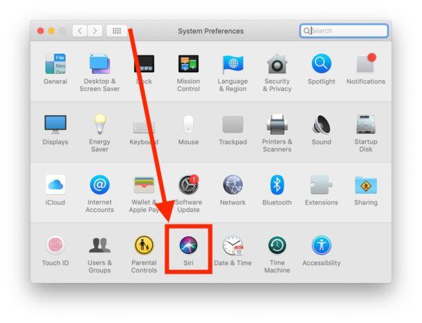 Ehi Siri su Mac  impostazioni